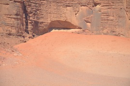 The red sand, Wadi Rum