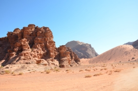 krajobrazy Wadi Rum