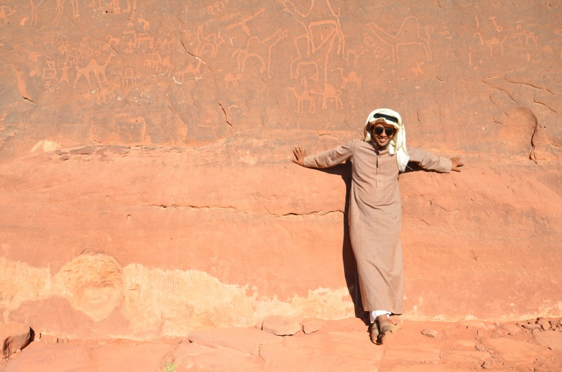 Nasz przewodnik Mohamed