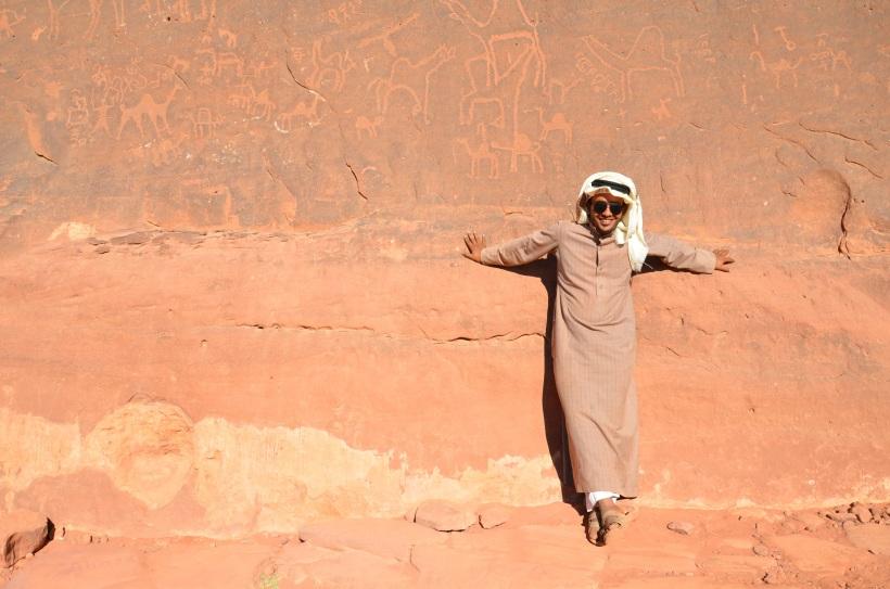 Nasz przewodnik Mohammed