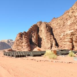 Jeden z obozów beduińskich, Wadi Rum