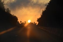 Wjeżdżamy do Jerozolimy o wschodzie słońca