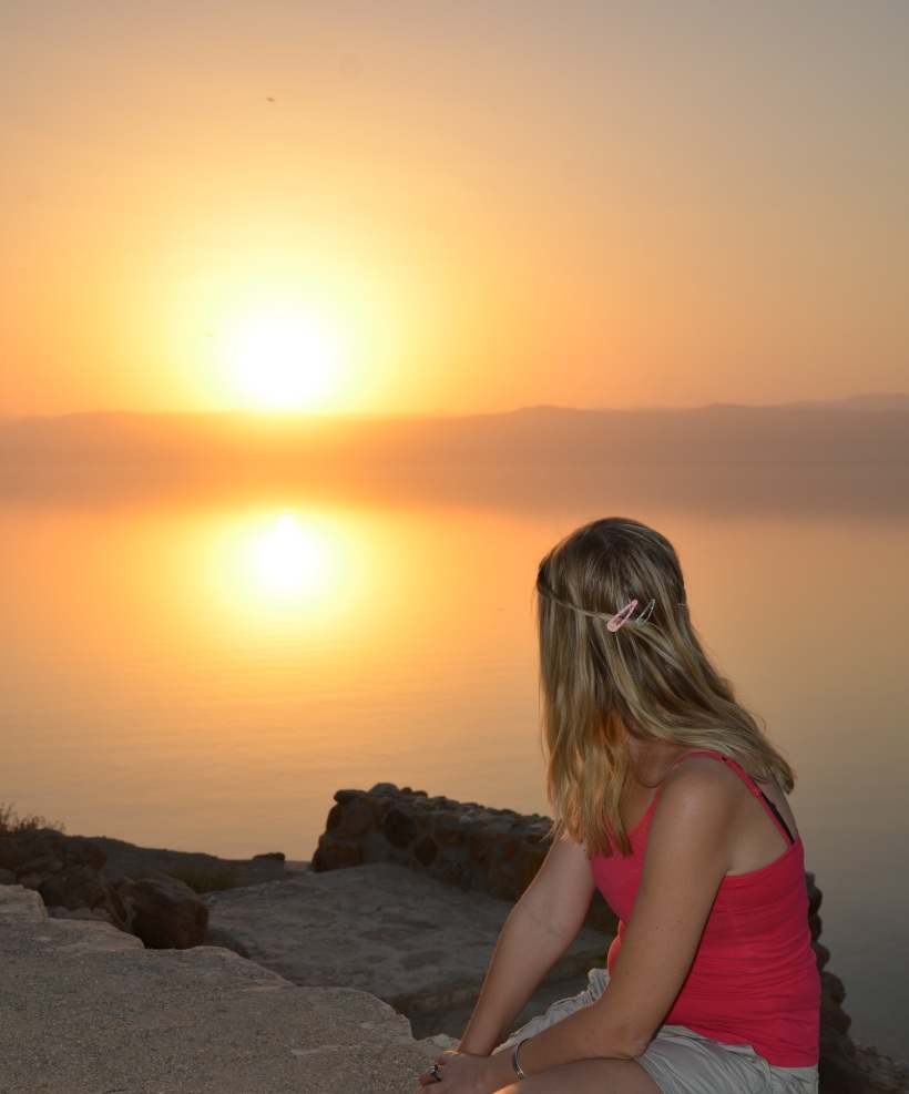 Dead Sea Sunset, Jordan