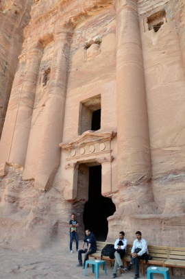 Petra. Były budynek mieszkalny