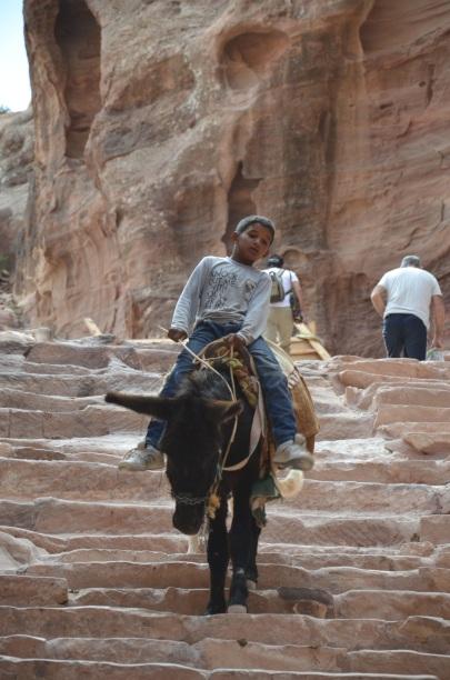 Little boy in Petra