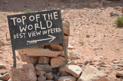 Top of the world. Petra