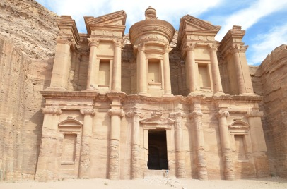 Petra. Klasztor