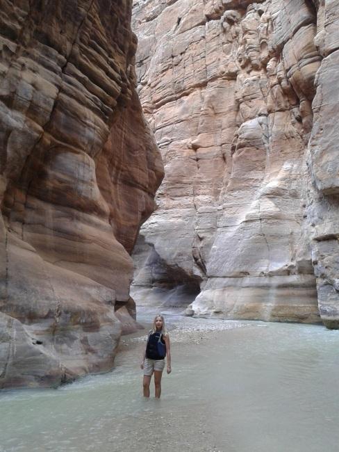Wadi Mujib. Cud Natury