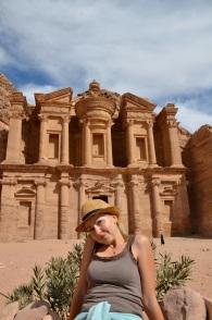 Klasztor zdobyty. Petra. Jordania