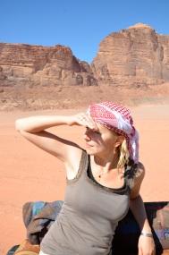 Wadi Rum. Początek podróży