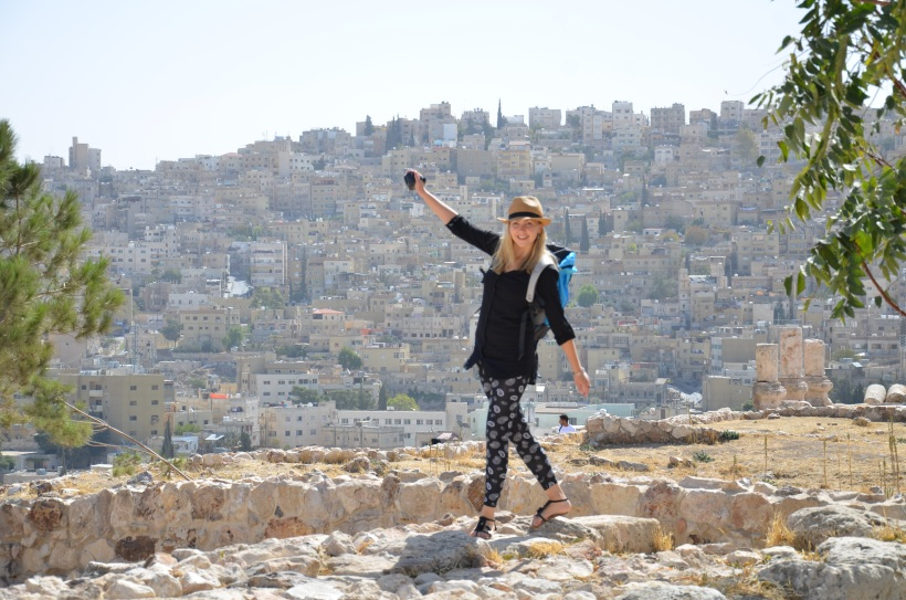 Cytadela z pięknym widokiem na Amman