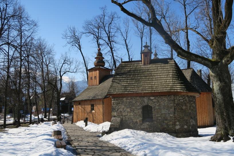 Stary Kościółek oraz Kaplica Gąsieniców