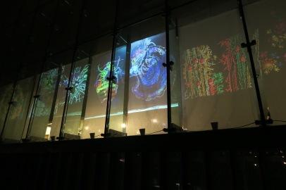 instalacja świetlna w Polin