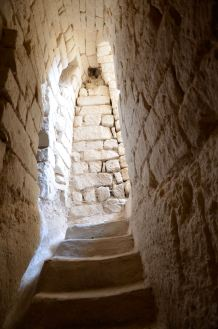 Stairway inside the cave of Beit Guvrin National Park