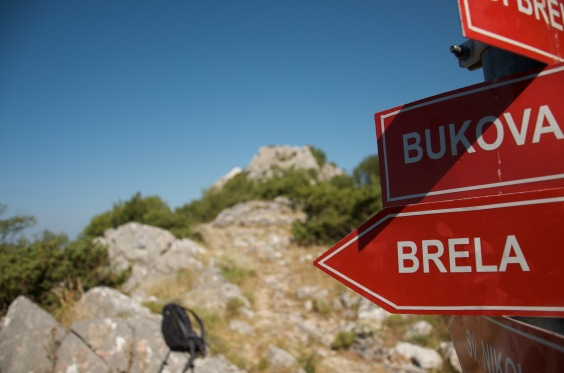 Signs, Biokovo NP