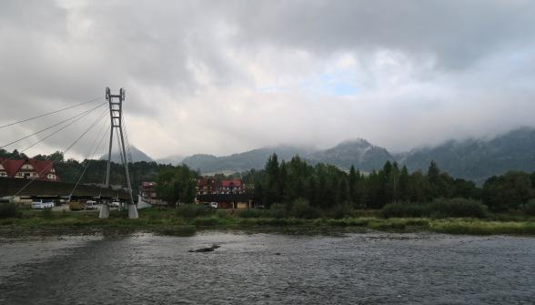 Dunajec, Trzy Korony w chmurach
