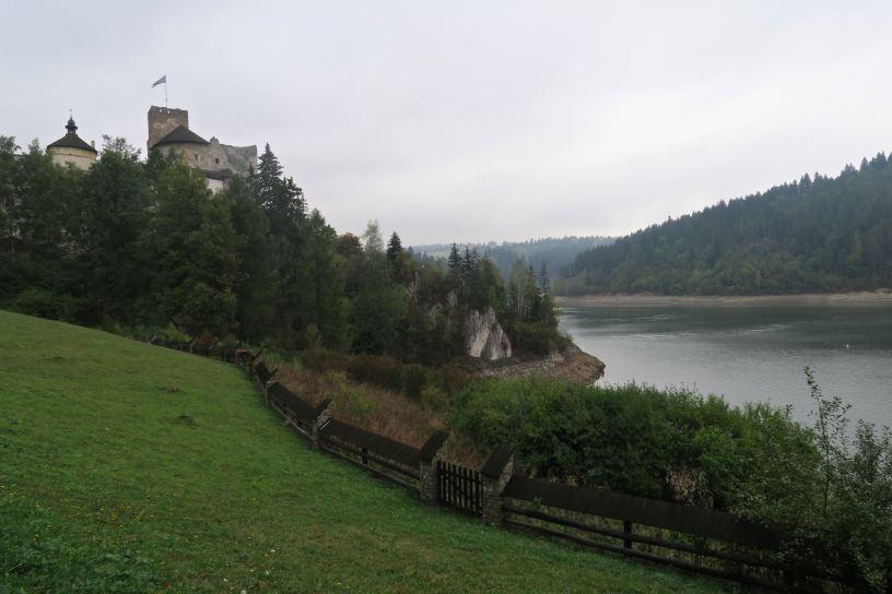 Zamek Dunajec w Niedzice