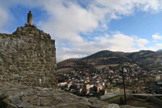 Ruiny zamku, Muszyna