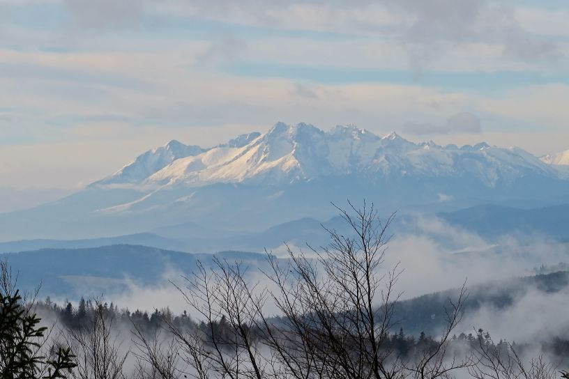 Tatry. Widok z Jaworzyny